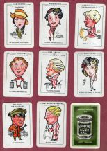 Collectible Advertising cards game by Andrews Liver Salts. Merry Andrews.